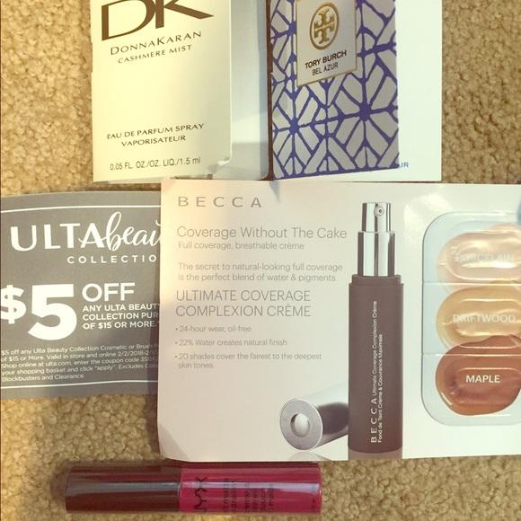 Makeup set lot ulta coupon NYX becca Tory burch NWT